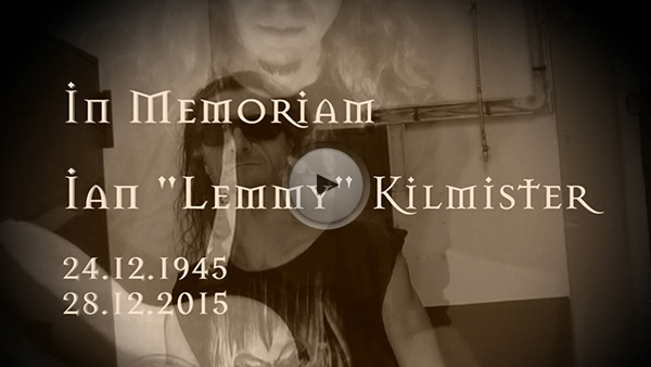 Tribute to Lemmy Kilmister by Dr. Woo