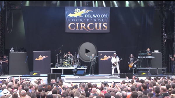 VIDEO Dr Woos Rock N Roll Circus Coburg 2015 Vorgruppe Scorpions