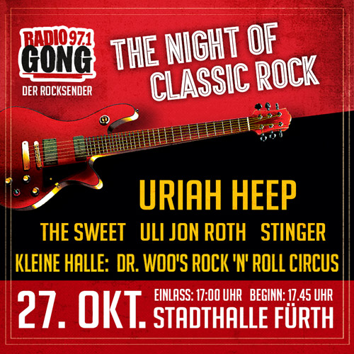Dr Woo Night Of Classic Rock Fürth 2018