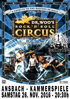 Dr Woos Rock N Roll Circus Ansbach Kammerspiele 2016